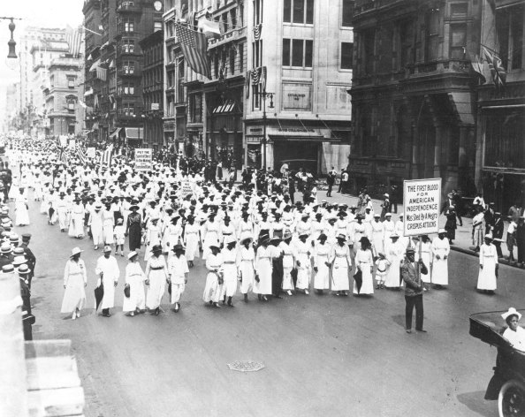 silent-march-nyc-1917